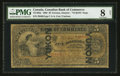 Canadian Currency: , Toronto, ON- The Canadian Bank of Commerce $5 January 2, 1892 Ch #75-14-04c Yukon Overprint. ...