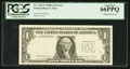 Error Notes:Missing Third Printing, Fr. 1915-F $1 1988A Federal Reserve Note. PCGS Gem New 66PPQ.. ...