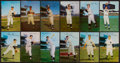 Baseball Cards:Lots, 1950's-1960's Dormand & Team Issue Baseball Player Post CardsCollection (37) With Koufax and Mantle. ...