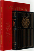 Books:Literature Pre-1900, [Picasso, Aristotle]. Pair of Books Published by The FranklinLibrary and Easton Press. Includes a copy of Lysistrata ...(Total: 2 Items)