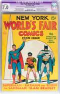 Golden Age (1938-1955):Superhero, New York World's Fair Comics #1940 (DC, 1940) CGC Apparent FN/VF7.0 Moderate (P) Off-white to white pages....