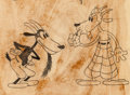 Animation Art:Production Drawing, Barnyard Olympics Character Sketch (Walt Disney, 1932)....