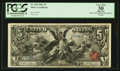 Large Size:Silver Certificates, Fr. 268 $5 1896 Silver Certificate PCGS Apparent Very Fine 30.. ...
