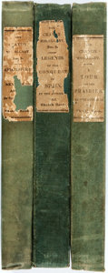 Books:Literature Pre-1900, [Washington Irving]. The Crayon Miscellany. No. 1 Containing aTour on the Prairies; No. 2 Containing Abbotsford and New...(Total: 3 Items)