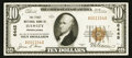 National Bank Notes:Pennsylvania, Hawley, PA - $10 1929 Ty. 1 The First NB Ch. # 6445. ...
