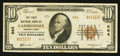 National Bank Notes:Pennsylvania, Carbondale, PA - $10 1929 Ty. 2 The First NB Ch. # 664. ...