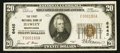 National Bank Notes:Pennsylvania, Hawley, PA - $20 1929 Ty. 1 The First NB Ch. # 6445. ...