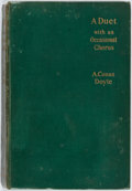 Books:Mystery & Detective Fiction, Arthur Conan Doyle. A Duet with an Occasional Chorus. London: Grant Richards, 1899. First edition. Publisher's green...