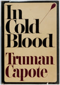 Books:Americana & American History, Truman Capote. In Cold Blood. New York: Random House,[1965]. First edition. Publisher's maroon cloth and original d...