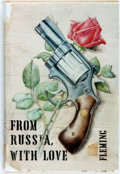 Books:Mystery & Detective Fiction, Ian Fleming. From Russia, with Love. New York: Macmillan,1957. First American edition. Publisher's tan cloth and or...