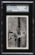 Baseball Cards:Singles (1940-1949), 1947 Bond Bread Jackie Robinson (Running To Catch Ball) SGC 35 Good+ 2.5. ...