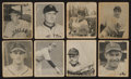 Baseball Cards:Sets, 1948 Bowman Baseball Partial Set (30/48) With Key Rookies. ...