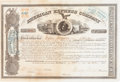 Autographs:Celebrities, Henry Wells, William Fargo, and Alex Holland Signed 1865-DatedAmerican Express Company Stock Certificate....