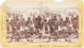 Photography:Stereo Cards, Apache Chief and Scouts Stereoview....