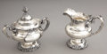 Military & Patriotic:Indian Wars, Elizabeth Custer's Personal Sugar & Creamer Set....