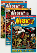 Bronze Age (1970-1979):Horror, Werewolf by Night Group (Marvel, 1972-77) Condition: Average FN....(Total: 31 Comic Books)
