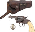 Handguns:Double Action Revolver, Colt Double Action Belonging to an Identified Texas Ranger. ** Gun Control Act Requirements Apply**... (Total: 3 Items)