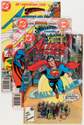 Modern Age (1980-Present):Superhero, Action Comics #484-583 Complete Run Group (DC, 1978-86) Condition:Average NM.... (Total: 100 Comic Books)
