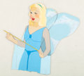 Animation Art:Production Cel, Pinocchio Blue Fairy Production Cel (Walt Disney, 1940)....