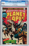 Bronze Age (1970-1979):Miscellaneous, Adventures on the Planet of the Apes #1 (Marvel, 1975) CGC NM+ 9.6Off-white to white pages....