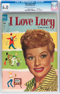 Golden Age (1938-1955):Miscellaneous, Four Color #535 I Love Lucy (Dell, 1954) CGC FN 6.0 Cream to off-white pages....