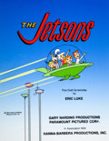 Animation Art:Production Drawing, The Jetsons First Draft Screenplay Cover Illustration(Hanna-Barbera, 1985)....