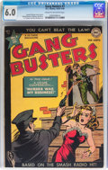Golden Age (1938-1955):Crime, Gang Busters #1 (DC, 1947) CGC FN 6.0 Cream to off-white pages....