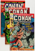 Bronze Age (1970-1979):Adventure, Conan the Barbarian Group (Marvel, 1971-73).... (Total: 23 Comic Books)