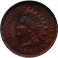 Proof Indian Cents: , 1889 1C PR66 Red and Brown NGC. NGC Census: (13/0). PCGS Population (6/0). Mintage: 3,336. Numismedia Wsl. Price for proble...