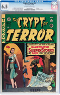 Golden Age (1938-1955):Horror, Crypt of Terror #17 (EC, 1950) CGC FN+ 6.5 Off-white to Whitepages....