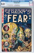 Golden Age (1938-1955):Horror, Haunt of Fear #17 (EC, 1953) CGC VF 8.0 Off-white to Whitepages....