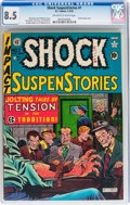 Golden Age (1938-1955):Horror, Shock SuspenStories #1 (EC, 1952) CGC VF+ 8.5 Off-white to Whitepages....