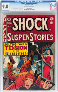 Golden Age (1938-1955):Horror, Shock SuspenStories #10 (EC, 1953) CGC VF/NM 9.0 Off-white to Whitepages....