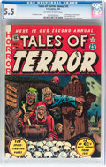 Golden Age (1938-1955):Horror, Tales of Terror Annual #2 (EC, 1952) CGC FN- 5.5 Off-White to whitepages....