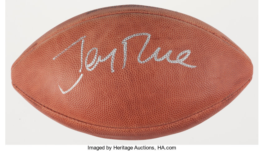 60be96be2c3 Jerry Rice Signed Football.... Football Collectibles Balls