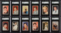 "Non-Sport Cards:Sets, 1958 Atlantic Oil ""Film Stars"" SGC Graded Near Set (23/32) Plus 10Extras. ..."