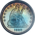 Proof Seated Quarters, 1888 25C PR67 NGC....