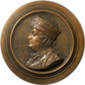 Betts Medals, 1777 Benjamin Franklin Plaque. Terra Cotta....