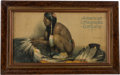 Advertising:Signs, Native American: E. I. Couse Advertisement....