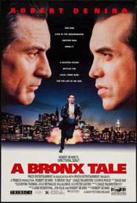 """A Bronx Tale & Other Lot (Savoy, 1993). One Sheets (2) (27"""" X 40"""") DS. Drama. ... (Total: 2 Items)"""