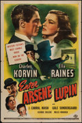 """Movie Posters:Crime, Enter Arsene Lupin (Universal, 1944). One Sheet (27"""" X 41"""").Crime.. ..."""