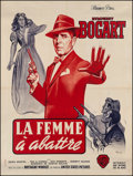 "Movie Posters:Film Noir, The Enforcer (Warner Brothers, R-late 1950s). French Grande (47"" X62.5""). Film Noir.. ..."