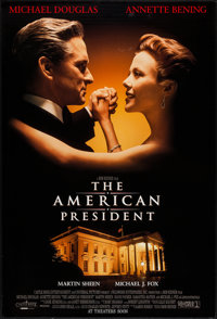 "The American President & Other Lot (Columbia, 1995). One Sheets (2) (27"" X 40"") DS Advance. Romance. ... (..."