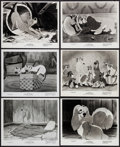 """Movie Posters:Animation, Lady and the Tramp (Buena Vista, 1955). Photos (11) (8"""" X 10""""). Animation.. ... (Total: 11 Items)"""