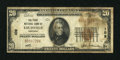 National Bank Notes:Kentucky, Louisville, KY - $20 1929 Ty. 1 The First NB Ch. # 109. ...