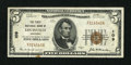 National Bank Notes:Kentucky, Louisville, KY - $5 1929 Ty. 1 The First NB Ch. # 109. ...