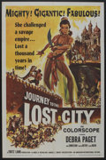 "Movie Posters:Adventure, Journey to the Lost City (American International, 1959). One Sheet(27"" X 41""). Adventure. ..."