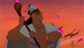Animation Art:Presentation Cel, Pocahontas Powhatan Employee Only Limited Edition Cel #23/30(Walt Disney, 1995)....