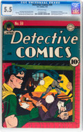 Detective Comics #59 (DC, 1942) CGC FN- 5.5 Off-white pages