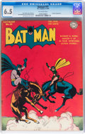 Golden Age (1938-1955):Superhero, Batman #21 (DC, 1944) CGC FN+ 6.5 Off-white pages....